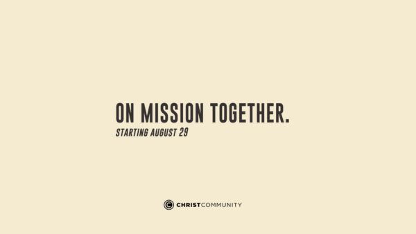 On Mission Together #1 Exalt God Image